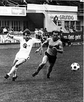 Heino Stempfle in einem Spiel gegen Waldhof Mannheim.