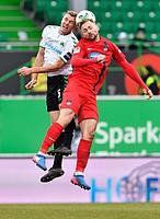 Richard Magyar im Spiel gegen den FC Heidenheim