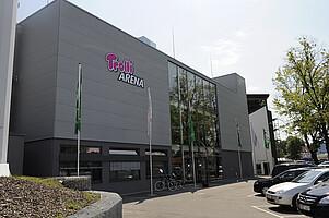 Das Gebäude VIP-Nord.