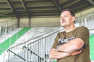 """Claus Hofer, 56, Block """"Der Lohner""""."""
