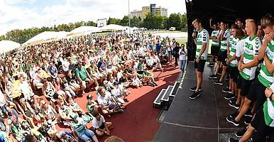29. Juli: Feierliche Eröffnung der Saison 18/19.