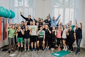 21. November: Fitnesstag für die Mitarbeiter der Spielvereinigung.