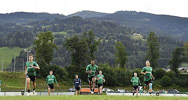 17. Juli: Im Sommer-Trainingslager werden die Grundlagen für die kommende Saison geschaffen.