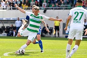 …gibt's Dank der Treffer von Paul Seguin und Fabian Reese einen Heimsieg gegen Darmstadt!