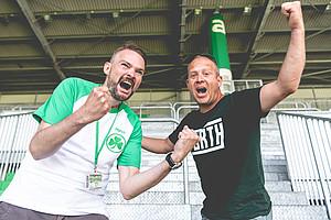 """Marco Petzet & Christian Erl, Block """"Der Lohner""""."""
