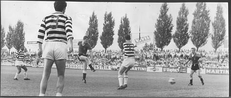 Intertoto-Cup-Spiel im Ronhof gegen den Wiener SC.
