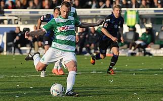 """Bernd Nehrig kam 2007 gemeinsam mit Marco Caligiuri aus Stuttgart und schoss den endgültig entscheidenden """"Aufstiegselfmeter"""" gegen den FSV Frankfurt."""