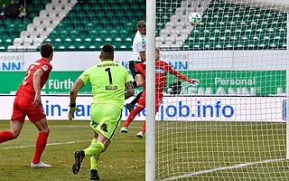 Heimspiel gegen Heidenheim, das 20. Tor der Saison für das Kleeblatt geht an Magyar