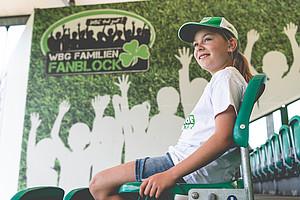 Leonie Stolle, 10, WBG-Familienfanblock & Ronhof Racker.