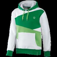 """Auch der Kapuzenpullover """"3-farbig"""" ist beim Pokalspiel reduziert. Beide Pullover kosten 34,95€ statt regulär 49,95€."""
