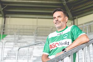 """Bernd Koch, 52, Block """"Der Lohner""""."""