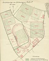 Lageplan des Ronhofs aus dem Jahr 1920.