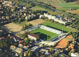 Luftbild vom Ronhof aus den frühen 2000ern.