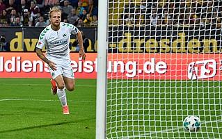 Am 5. Spieltag war es Hofman, der in Dresden mit einem Linksschuss in der 82. Minute, den ersten Saisonpunkt sicherte.