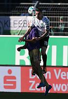 Auch Roberto Hilbert hat Sprungkraft...