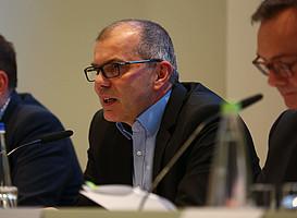 Vizepräsident und Direktor Finanzen Dirk Weißert präsentierte die wirtschaftlichen Fakten des eingetragenen Vereins.