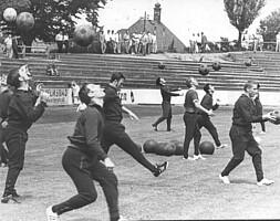 Trainingsauftakt im Jahr 1969.