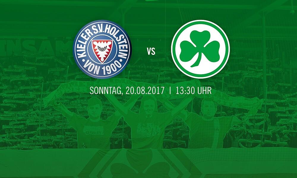 Auswarts Tickets Fur Holstein Kiel Spvgg Greuther Furth Die Offizielle Website